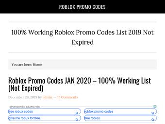 Roblox Promo Codes List El Promocode Mas Antiguo De Roblox Funciona Youtube